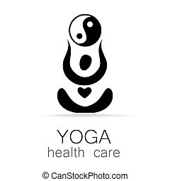 yoga health care - Yoga Logo design vector template Yoga...