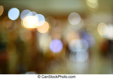 abstract blur bokeh light. Defocused background.