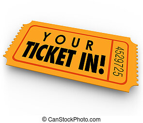 Your Ticket In Guest Access Invitation Special Entry Pass -...