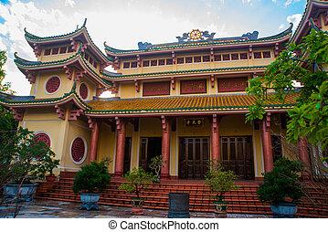 vietnam,  Da, budista, templo,  nang