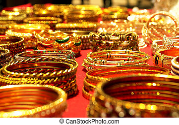 Colorful bangles:Traditional Indian wedding symbol