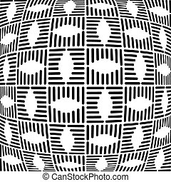 Geometric checked pattern. Abstract textured background....