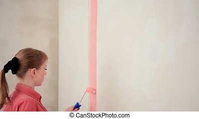 Girl Chooses Color Scheme of the Room for the Future. - TIME...