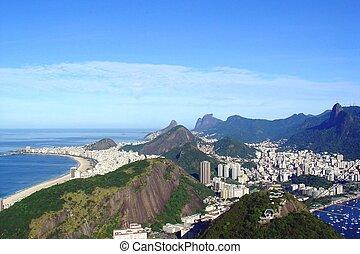 Rio - Aerial view of Rio de Janeiro, Brazil