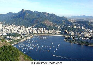 Rio de Janeiro - Aerial view of Rio de Janeiro, Brazil