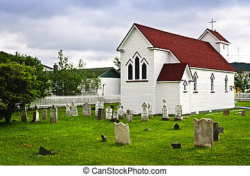 St Lukes Church and cemetery in Placentia - St Lukes...