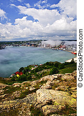 Cityscape of Saint John\'s from Signal Hill