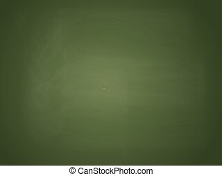 Realistic Blank Chalkboard Vector Illustration