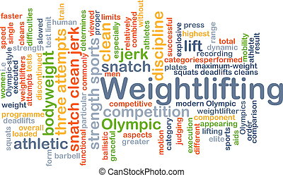 Weightlifting background concept - Background concept...