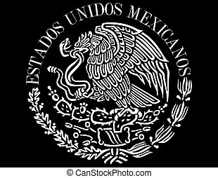 Mexican icon - National symbol flag