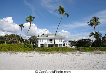 Beautiful house at the beach of Naples, Florida USA