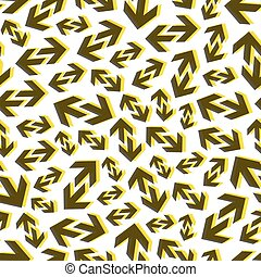 Arrows. Seamless pattern. Vector illustration. - Arrows....