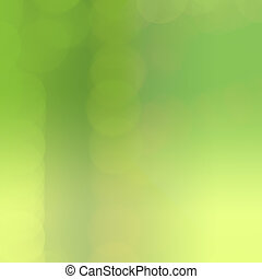 Abstract light blur green bokeh background