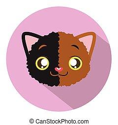 Kitty head icon #2