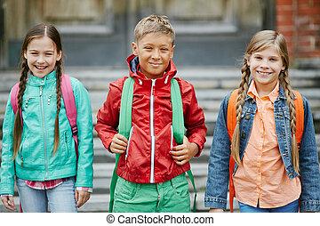 Friendly pupils