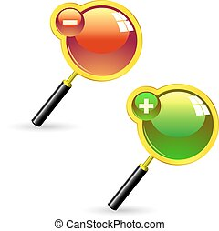 Magnifier Usable for different design