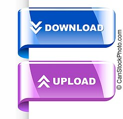 Download icon. Usable for web design.