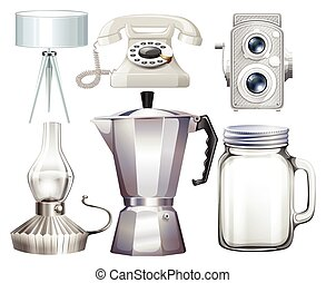 Household objects - Different kind of household objects