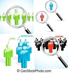 Business concept illustration Usable for different business...
