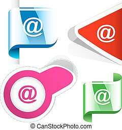 E-mail icon. Usable for web design.