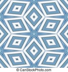 Kaleidoscopic seamless pattern - Seamless pattern with...