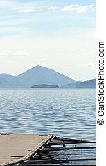 Lake Prespa, Macedonia - Picture of a Lake Prespa, Macedonia