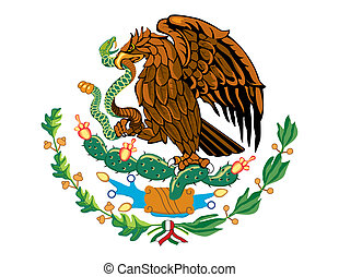 Mexico - National flag symbol of Mexico