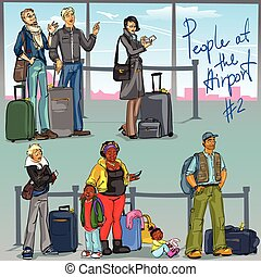 People at Airport - part 2