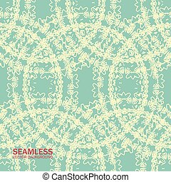 seamless patterns of circles in ret - Seamless pattern...