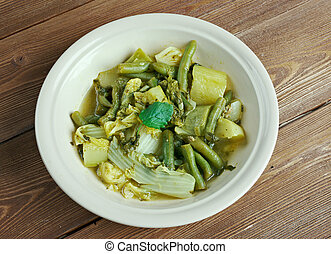 Utan Vegetables - vegetable soupy dish of the Philippines