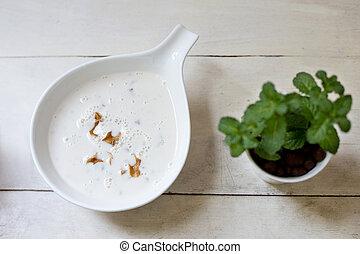 Buttermilk cold soup