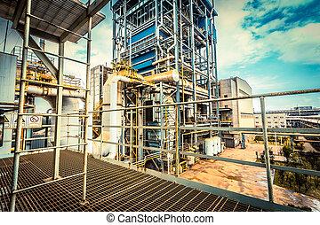 utrustning, industri,  Installation