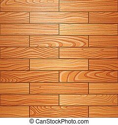 Realistic wooden parquet texture Vector seamless background...