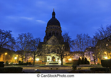 The Christuskirche in Mainz in Germany