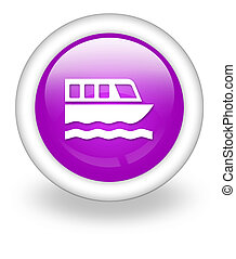 Icon, Button, Pictogram Boat Tour - Icon, Button, Pictogram...
