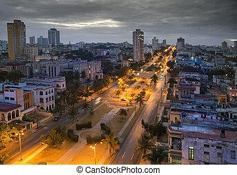 Cuba.  Havana. The top view