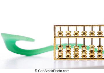 abacus ade jade ruyi - abacus and jade ruyi