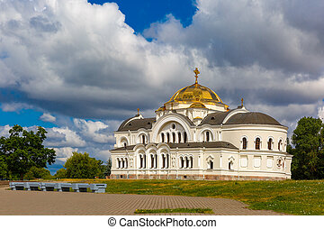 Garrison church in Brest fortress, Belarus - Saint Nicholas...