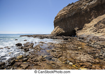 Abalone Cove Tidal Pool - Tidal pools at Abalone Cove near...