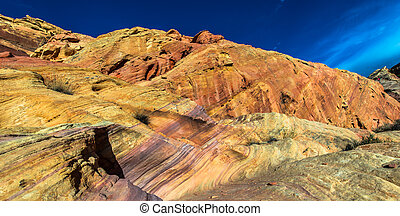 Rainbow Vista Valley of fire Nevada - The canyons, domes,...