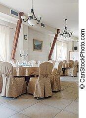 桌子, 椅子, 覆蓋, 婚禮