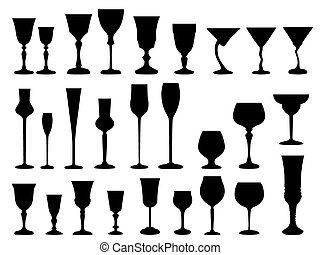 Goblet - vector, wineglass, symbol, wine, design,...