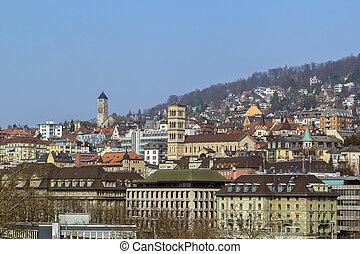 view of Zurich, Switzerland