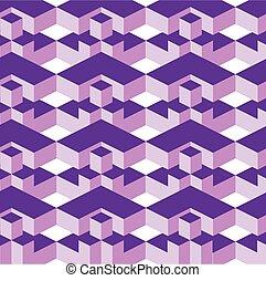 geometric texture in op art design