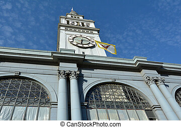 San Francisco Ferry Building - SAN FRANCISCO - MAY 21...