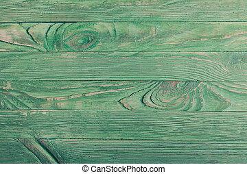 de madera, verde, Plano de fondo,