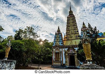 Bodh Gaya at Wat Monmahinsiraram in Lamphun, Thailand