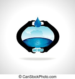 save water concept idea save earth