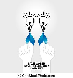 save water save electricity