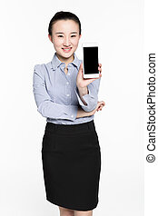beautiful phone salesman - the highly competitive mobile...